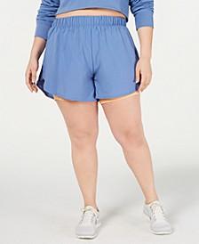 Plus Size Sportswear Heritage Fleece Shorts