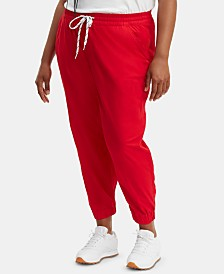 Levi's® Trendy Plus Size  Drawstring Jogger Pants