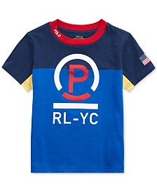 Polo Ralph Lauren Little Boys Cotton Jersey T-Shirt