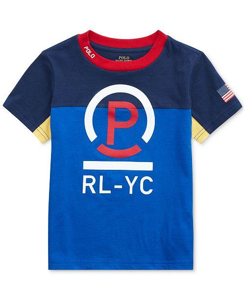 Polo Ralph Lauren Toddler Boys Cotton Jersey T-Shirt