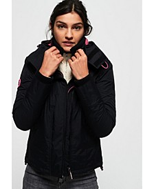 Arctic Hooded Pop Zip Sd-Windcheater Jacket