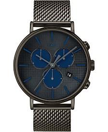 Timex Fairfield Supernova™ Chronograph 41mm Black Mesh Band Watch