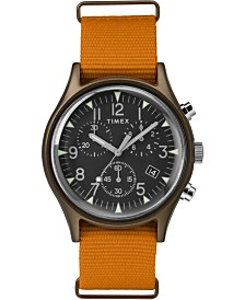 Timex Mk1 Aluminum Chronograph 40mm Fabric Strap Watch