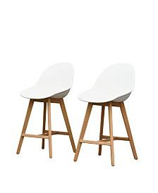 2 Piece Patio Barstool Set