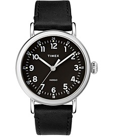 Standard 40mm Leather Strap Watch