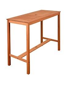 Patio Bar Table Rectangular