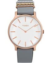 8ffa5fce22ad Timex Transcend 38mm Leather Strap Watch