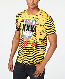 GUESS Men's Animal Roar Beaded Graphic T-Shirt