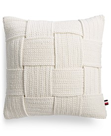 "Leilani Braided 18"" Square Decorative Pillow"