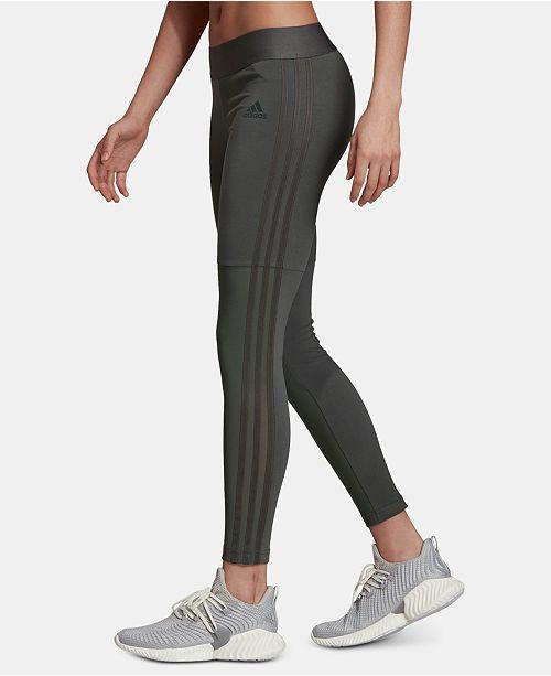 adidas leggings mesh