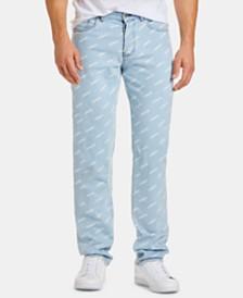 Lacoste Men's L!Ve Printed Jeans