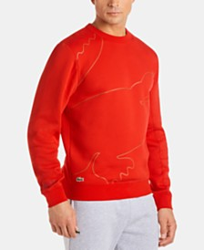 Lacoste Men's Big Croc Fleece Sweatshirt