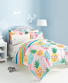 Dream Factory Pineapple 7-Pc. Full Bed-in-a-Bag