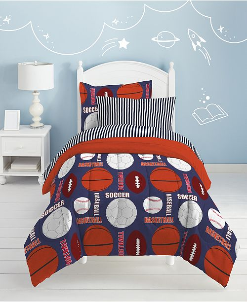 Dream Factory All Sports 5-Pc. Bed-in-a-Bags