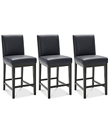 Reed Stool, 3-Pc. Set (3 Counter Stools)