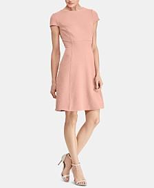 American Living Waffle-Knit Jacquard Dress