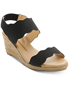 XOXO Stanford Espadrille Wedge Sandals