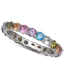 Cubic Zirconia Rainbow Ring, Created for Macy's