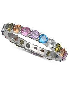 Giani Bernini Cubic Zirconia Rainbow Ring, Created for Macy's