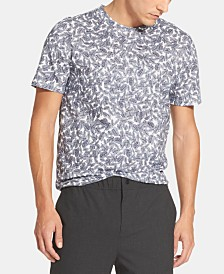 DKNY Men's Leaf Graphic T-Shirt