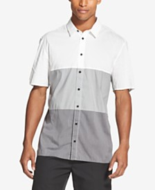 DKNY Men's Colorblocked Shirt