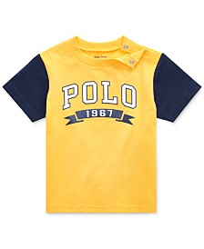 Polo Ralph Lauren Baby Boys Logo Graphic Cotton T-Shirt