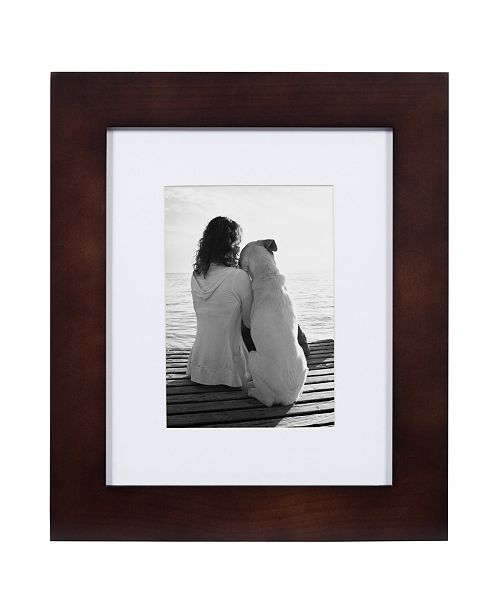 DesignOvation Museum Wood Picture Frame, Set of 4