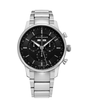 Image of Alexander Watch A101B-02, Stainless Steel Case on Stainless Steel Bracelet