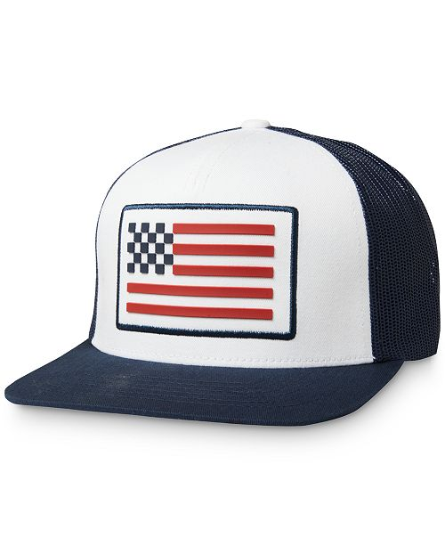Fox Men's Patriotic Flag Hat