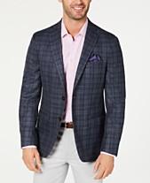 9affec4eb Lauren Ralph Lauren Men's Classic-Fit UltraFlex Stretch Plaid Sport Coat