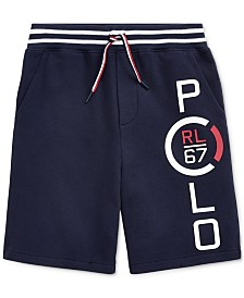 Polo Ralph Lauren Big Boys French Terry Cotton Shorts