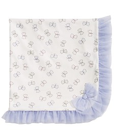 First Impressions Baby Girls Butterfly Tulle Blanket, Created for Macy's