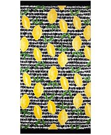 Bardwil Lemon Toss Beach Towel