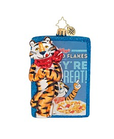 Christopher Radko Frosted Flakes, They're GRRRREAT!