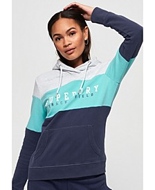 Track and Field Lite Colour Block Hoodie