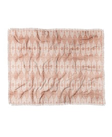 Heather Dutton West End Blush Woven Throw