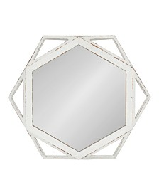 Kate and Laurel Cortland Wood Framed Mirror