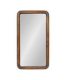 Pao Framed Wood Wall Mirror
