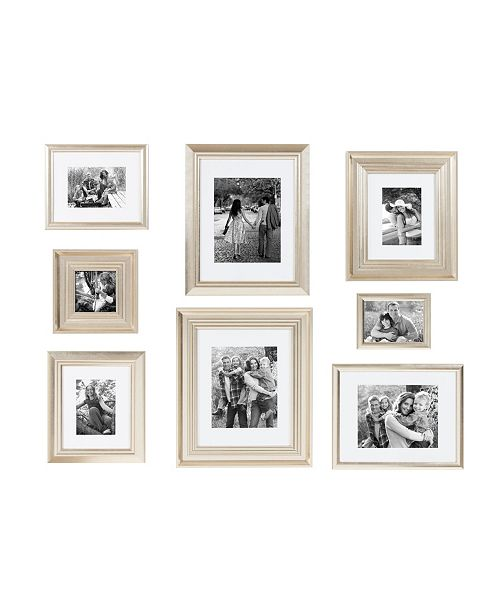 Kate and Laurel Odessa Frame Set, 8 Piece