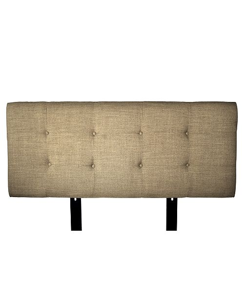 MJL Furniture Designs Ali Button Tufted Upholstered Twin Headboard