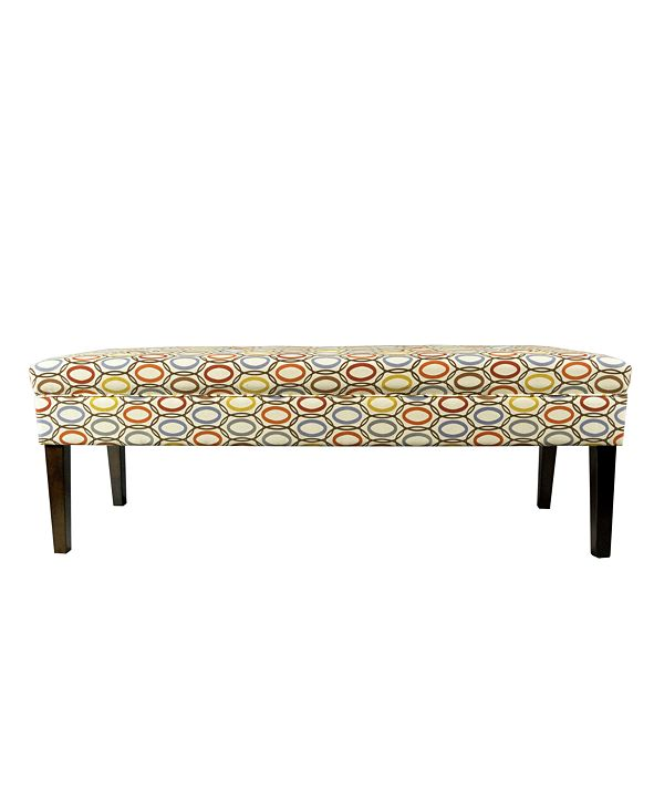 MJL Furniture Designs Kaya Button Tufted Entryway Long Bench