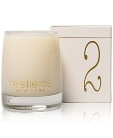 Reisfields NYC Hand-Poured Signature Collection Luxury Candle No. 2, 10-oz.
