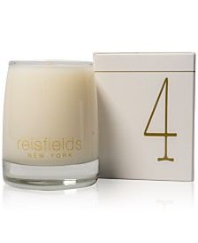 Reisfields NYC Hand-Poured Signature Collection Luxury Candle No. 4, 10-oz.