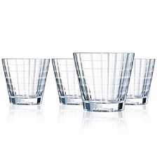 Cristal D' Arques Iroko On The Rocks - Set of 4
