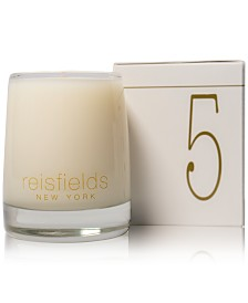 Reisfields NYC Hand-Poured Signature Collection Luxury Candle No. 5, 10-oz.