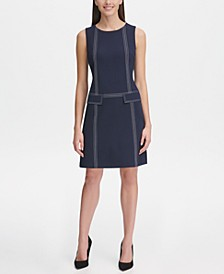 Scuba Crepe Pocket Dress