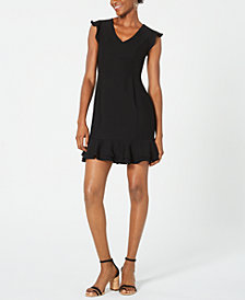 19 Cooper Ruffled Lace-Back Dress