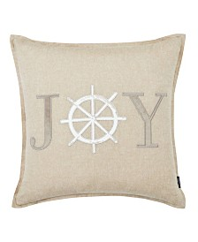 Nautica Joy Applique Square Pillow