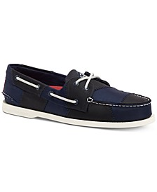 Men's A/O 2-Eye Sailcloth Boat Shoes