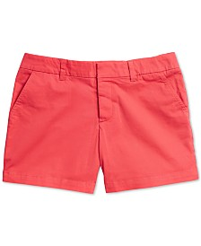 Tommy Hilfiger Adaptive Women's Hollywood Solid Shorts with Magnetic Closure